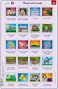 2 Puzzles Cadres - Apprendre l'Anglais : Read and Look 29-30 (en Anglais)