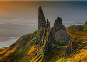 Pièces Magnétiques - Île de Skye, Ecosse