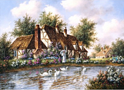 Dennis Lewan - Admiring The Swans