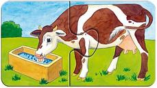 9 Puzzles - A la ferme