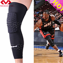 High Quality Mcdavid Breathable Basketball Footable Sports Kneepad Shank Honeycomb Pad Bumper Tight Kneelet legguard YD001
