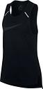 Haut sans manches Elite Nike Breathe - Noir/Noir/Noir - Femme