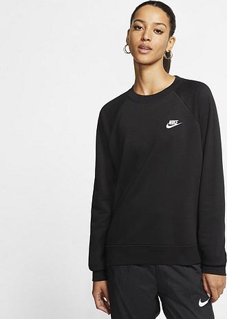 Haut en tissu Fleece Nike Sportswear Essential pour Femme - Noir