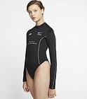 Body à manches longues Nike Sportswear DNA pour Femme - Noir