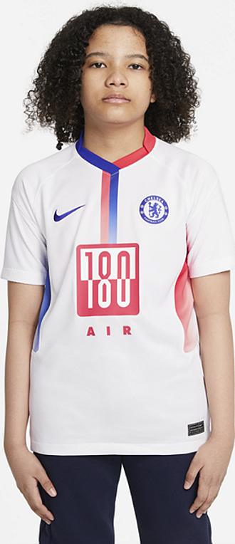 Maillot de football Chelsea FC Stadium Air Max pour Enfant plus âgé - Blanc
