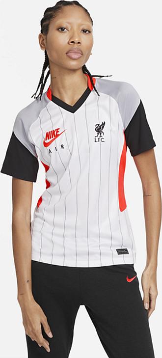 Maillot de football Liverpool FC Stadium Air Max pour Femme - Blanc