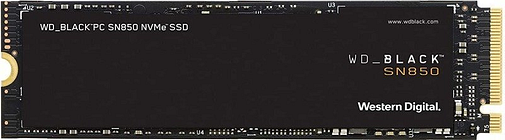 WD Black SN850 2TB M.2 PCIe 4.0 NVMe SSD/Solid State Drive