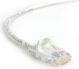 StarTech.com Snagless Cat 5e UTP Patch Cable 2.1m White