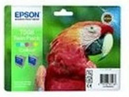 Epson T008 46ml Colour Ink Cartridge 220 Pages - Twin Pack