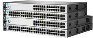 HPE 2530-48 Managed L2 Switch - 48 x 10/100 + 2 x Gigabit SFP + 2 x 10/100/1000