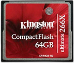 Kingston 64GB Ultimate CompactFlash 266x w/Recovery