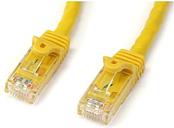 StarTech.com 1m Yellow Gigabit Snagless Rj45 Utp Cat6 Patch Cable - 1 M Patch Cord