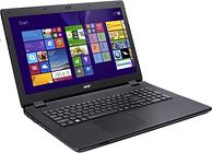 """Acer Aspire E5-772 Laptop, Intel Core i3-5005U 2GHz, 500GB HDD, 4GB RAM, 17.3"""" LED, DVDRW, Intel HD, WIFI, Webcam, Bluetooth, Windows 10 64bit"""