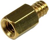 Startech 50x Pack Jackscrew Standoffs 6-32 To M3