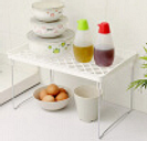 Household Kitchen Storage Rack Kitchenware Folding Flavoring Shelf Organizer Bathroom Foldable Practical Tool Rack