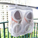 Drying Shoes Mesh Wash Bags Sneaker Portable Storage Basket For Travel Laundry Bag With Zip Home Storage Organizer Bag