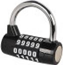 Cerradura de combinación Candado de combinación de 4 dígitos Candado de combinación ajustable Cerradura de gimnasio Cerraduras combinadas para Gates C
