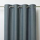 Digga Blue Diamond Unlined Eyelet Curtain (W)140cm (L)260cm  Single
