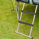 Plum 3 Tread Steel Adjustable Trampoline Ladder  1.05m