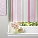 Colours Keel Corded Green  Pink & White Roller Blind (L)160cm (W)180cm
