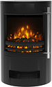 BeModern Tunstall 02757X Log Effect Electric Stove - Black