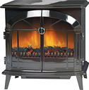 Dimplex Stockbridge SKG20BLN Log Effect / Coal Bed Electric Stove With Remote Control - Black