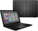 HP15T-Black Wood Skin for 15.6 in. 2017 HP 15T Laptop, Black Wood