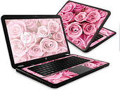 HPPAVG6-Pink Roses Skin for 15.6 in. HP Pavilion G6 Laptop, Pink Roses