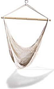 KingsPond   Hammaka Hammocks White Hanging Net Chair
