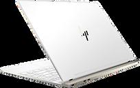 "HP Spectre Laptop - 13t|White|1.8 GHz Intel Quad Core CPU|256 GB SSD|16 GB LPDDR3|13.3"" 4K IPS Display|Windows 10 Pro 64"