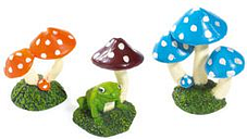 Classic For Pets Mushroom Asst 70mm