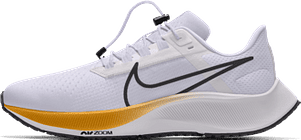 Chaussure de running personnalisable Nike Air Zoom Pegasus38 By You pour Homme - Blanc