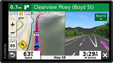 Garmin DriveSmart 55 & Traffic with Included Cable: GPS Navigator with a 5.5 Display