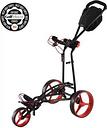 Big Max AutoFold FF Trolley - Black/Red