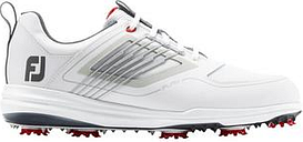 FootJoy Mens Fury Golf Shoes 2020 - White/Red