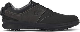 FootJoy Mens Contour BOA 2020 Golf Shoes - Black/Charcoal