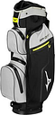 Mizuno BRDRI 14 Way Water Proof Golf Cart Bag - Black/Grey/Lime
