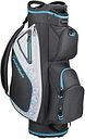 TaylorMade Golf Kalea 3 Ladies Cart Bag - Charcoal/Blue