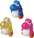 Nintendo pack 3 mini figurines Medicom UDF série 2 Baby Yoshi (New Super Mario Bros. U) 4 cm