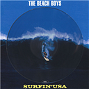 Vinyle Beach Boys - Surfin Usa (Stereo & Mono) (Picture Disc)