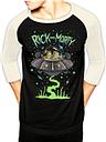T-shirt de Baseball Rick And Morty - Spaceship