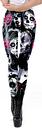 Costume Carnevale Pantaloni da yoga per sportivi da donna con sc