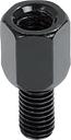 P&W Spiegeladapter M10R auf M8L (Scooter) schwarz
