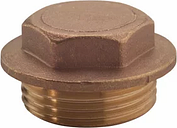 Plumbsure Brass Flange Male Nut (Dia)19mm