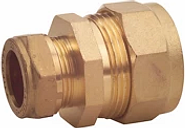 Plumbsure Compression Pipe fitting adaptor (Dia)15mm