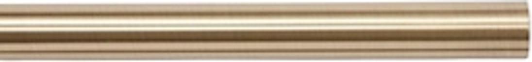 GoodHome Antiki Gold Antique brass effect Curtain pole  (L)2m (Dia)28mm
