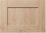GoodHome Alpinia Oak effect shaker Drawer front  bridging door & bi fold door  (W)500mm