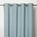 Pahea Blue green Chenille Unlined Eyelet Curtain (W)135cm (L)260cm  Single