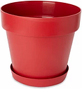 Blooma Nurgul Red Saucer (Dia)30.5cm