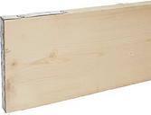 Sawn Softwood Scaffold board (L)3.9m (W)0.23m (T)38mm